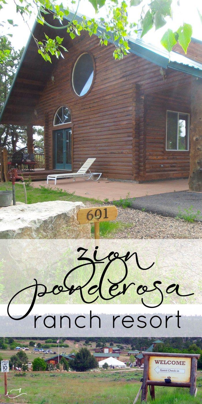zion ponderosa ranch & resort | Little Dove Blog