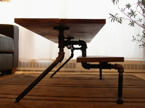 111 best images about iron pipe furniture on Pinterest