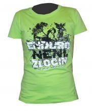 Fashion Rockway Dámské tričko Enduro není zločin-zelinkavá