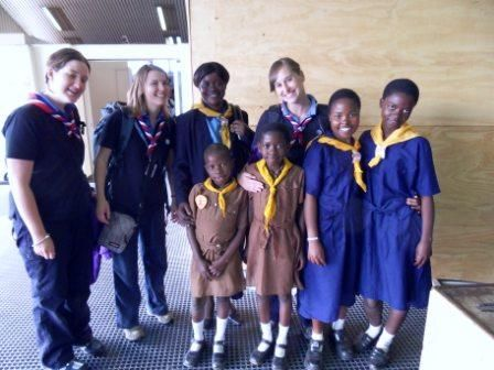 Malawi Girl Guides and Girlguiding UK GOLD Training  Hmmm...didn't see them at our GOLD training