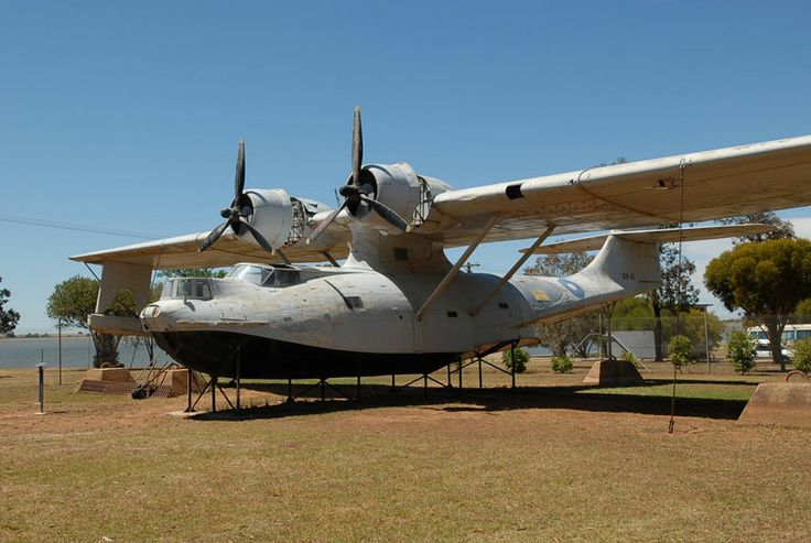 A Catalina Flying Boat- this one is at Lake Boga, Victoria