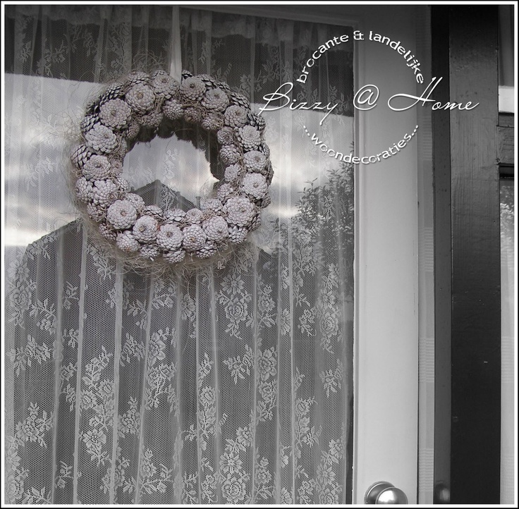 pinecone wreath: Search, Wreaths