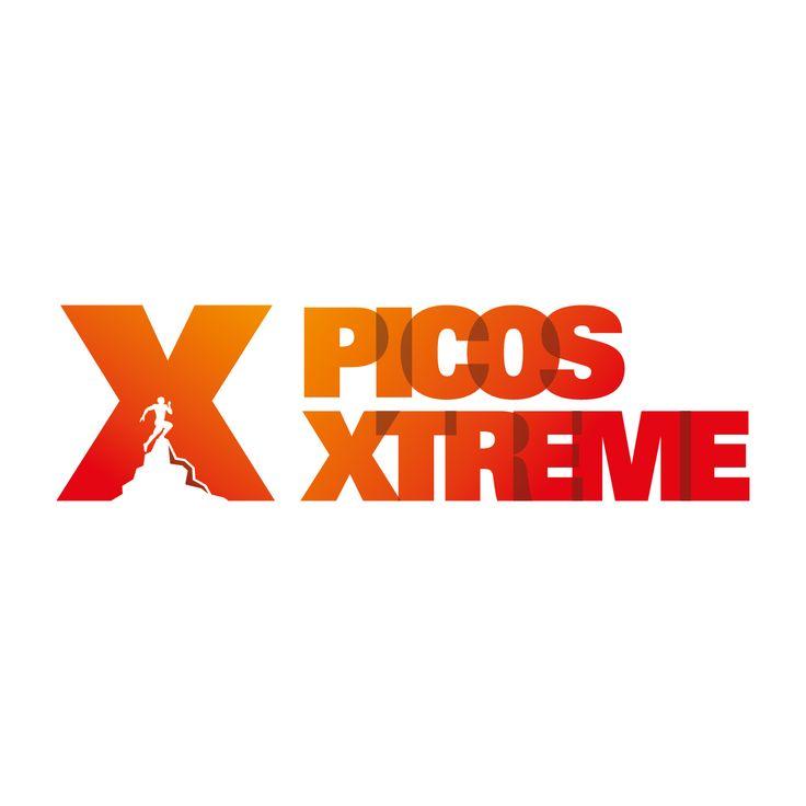 Logotipo de Picos Xtreme, hecho para aventureros como Óscar Sebrango,