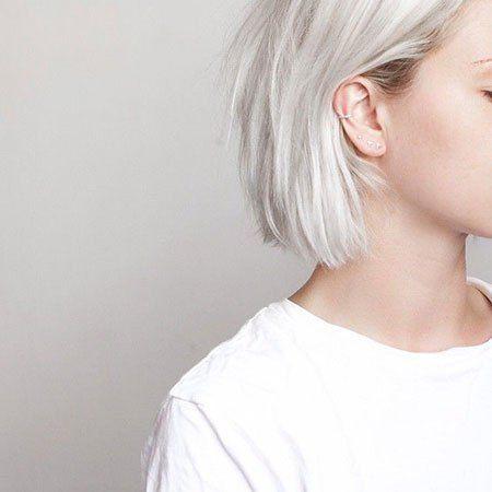 15 Platinum Blonde Hairstyles for Short Hair
