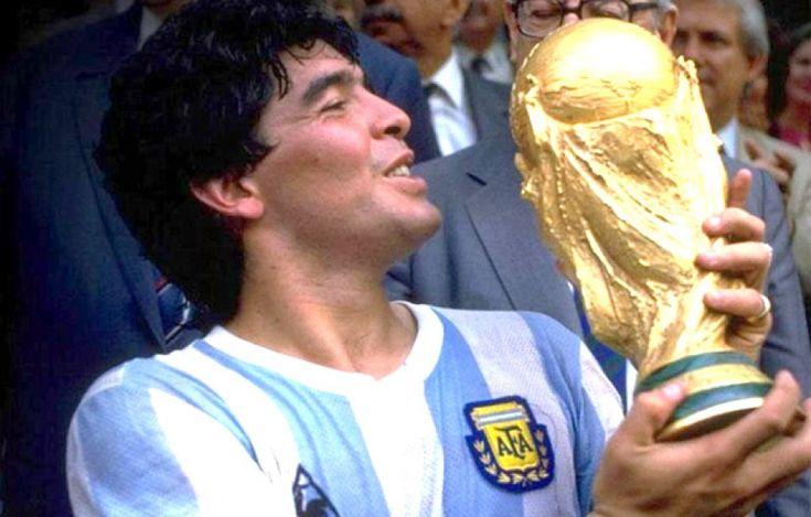 Diego Armando Maradona (Buenos Aires, 30 oktober 1960)