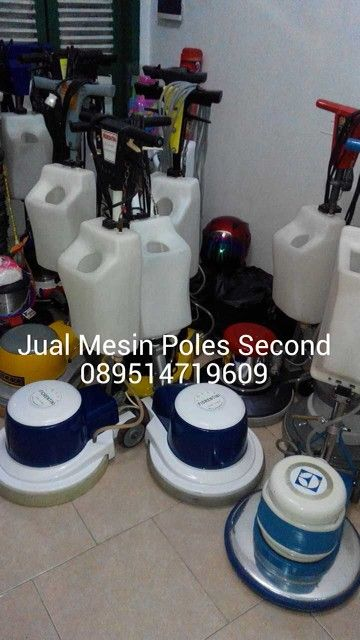 Mesin poles bekas 089514719609 mesin poles marmer second floor polisher