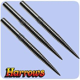 Harrows Super Grip Laser Dart Points