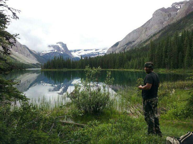 Amazing high alpine lake #glacier #flyfishing #fishing #trout #camping #nature #kontra_apparel