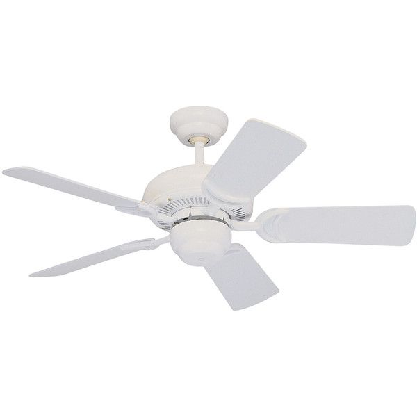 "Monte Carlo 34"" Designer Supreme III Fan - White - Ceiling Fan 5DS34WH ($199) ❤ liked on Polyvore featuring home, home decor, fans, white ceiling fan, transitional home decor, white fan, transitional ceiling fans and white home accessories"