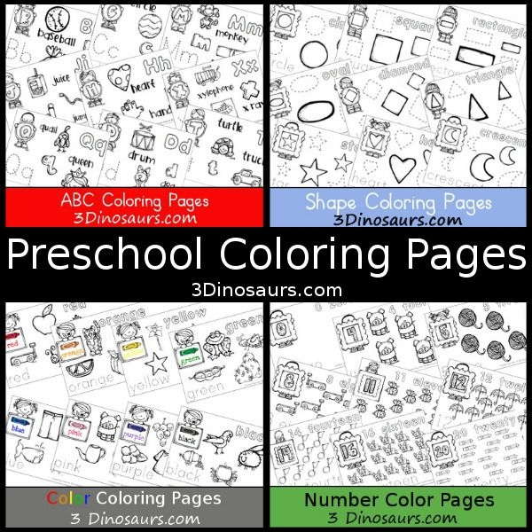 25 best ideas about Preschool coloring pages on Pinterest  Abc