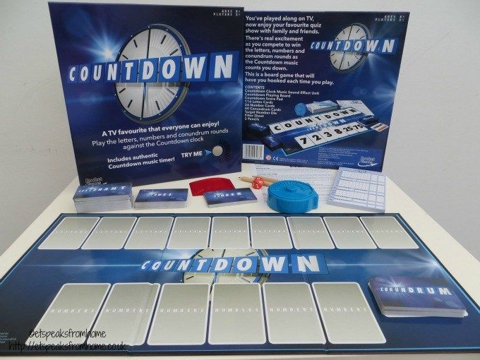 E: 10/03 Win Countdown Board Game worth £19.99 http://etspeaksfromhome.co.uk/2016/02/countdown-review.html