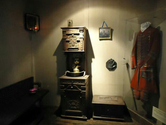 """Inside the Cabin of Peter the Great. """"AL"""""""