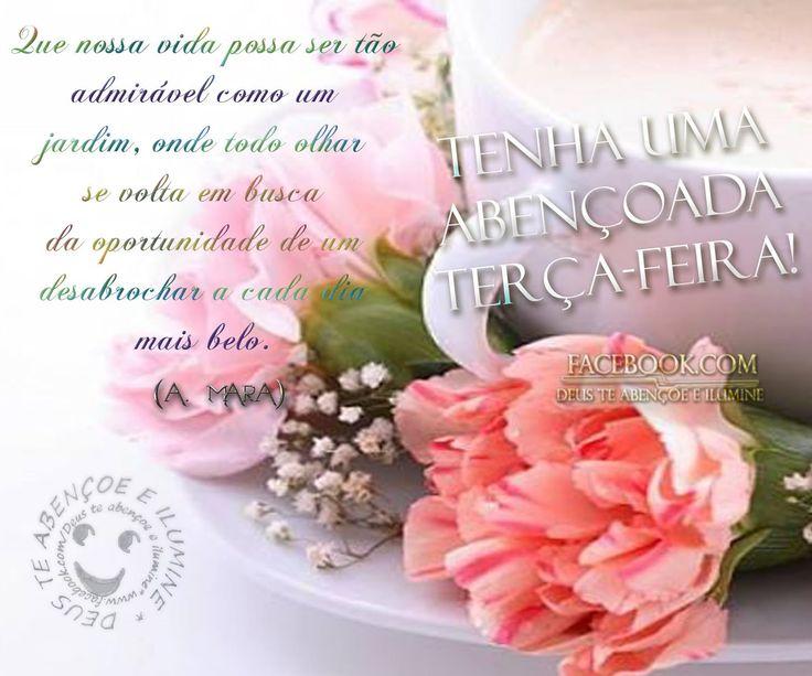Que Seu Dia Tenha O Encanto E A Beleza De Um Lindo Dia De: Tenha Uma Abençoada Terça-feira! #Deus_Abencoe_Voce