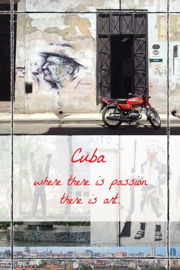 Havana, Cuba can be overwhelming. Even for a road-savvy traveller. I learned more about the people through the art in Havana than I have anywhere else.