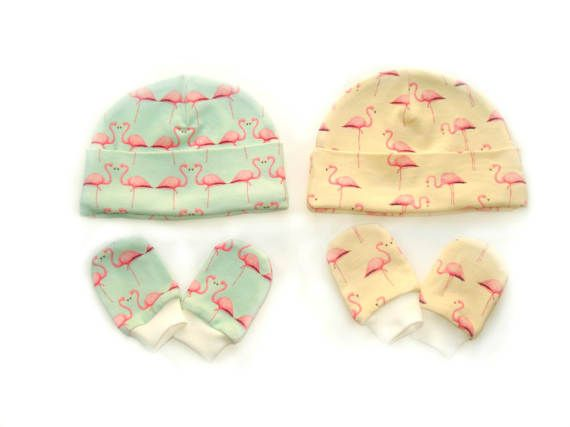 READY TO SHIP Organic baby clothes baby hats girls от MothersBaby