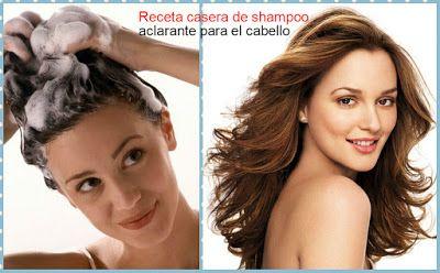 Colorante vegetal para cabello y shampoo aclarante ~ Belleza y Peinados