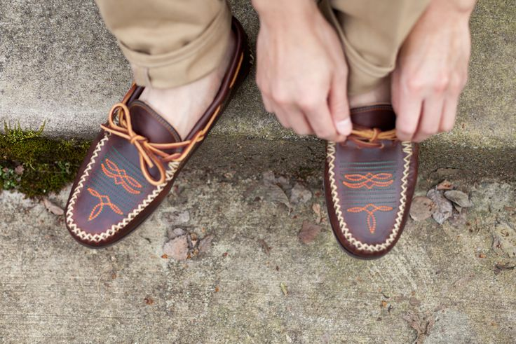 boat shoes, with a twist