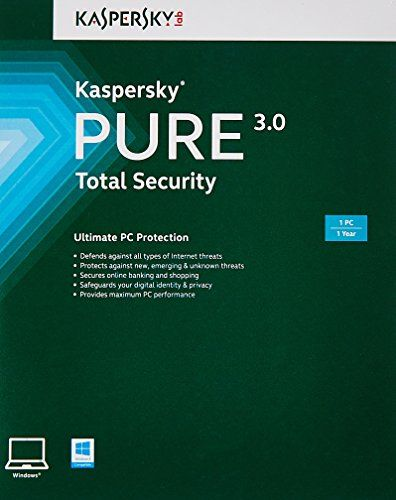 Kaspersky Pure 3.0 Total Security - 1 PC, 1 Year (CD) Kaspersky http://www.amazon.in/dp/B00UP4FAQ0/ref=cm_sw_r_pi_dp_3usaxb0E2QDFT