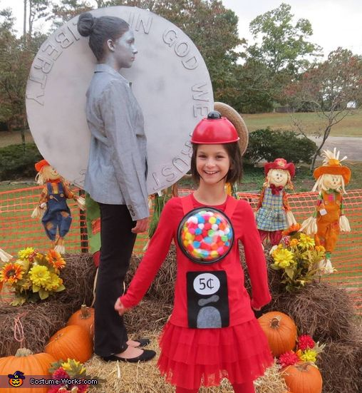 3262 best halloween costume ideas images on pinterest halloween bubblegum machine and nickel halloween costume idea solutioingenieria Images
