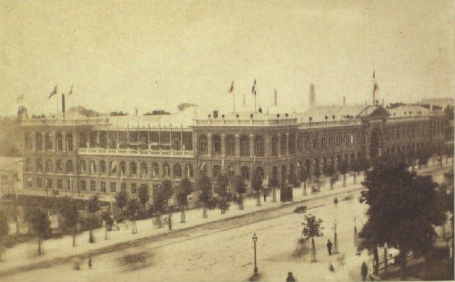 Industriforeningens bygning med Vesterbros Passage - Vilhelm Klein - Wikipedia, den frie encyklopædi