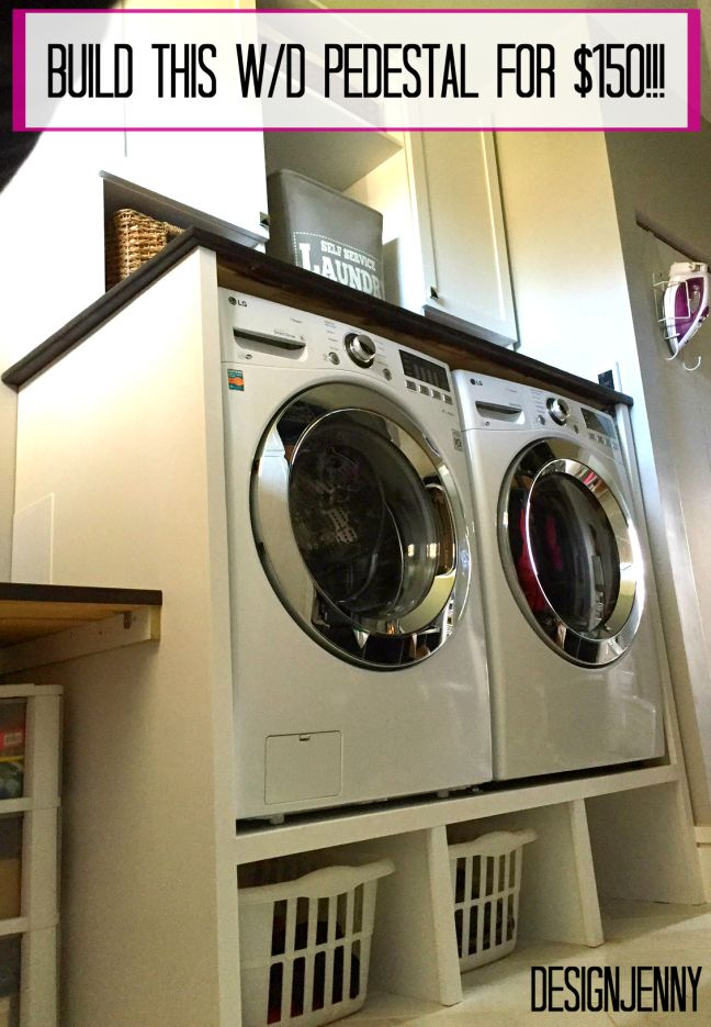 Washer and dryer pedestal for $150!!!