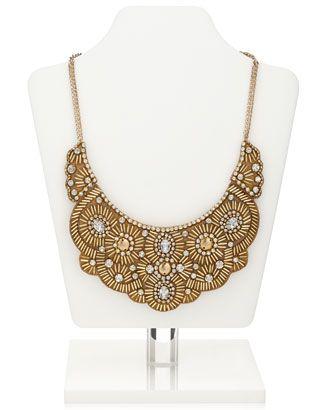 Sunshine Embellished Collar Necklace
