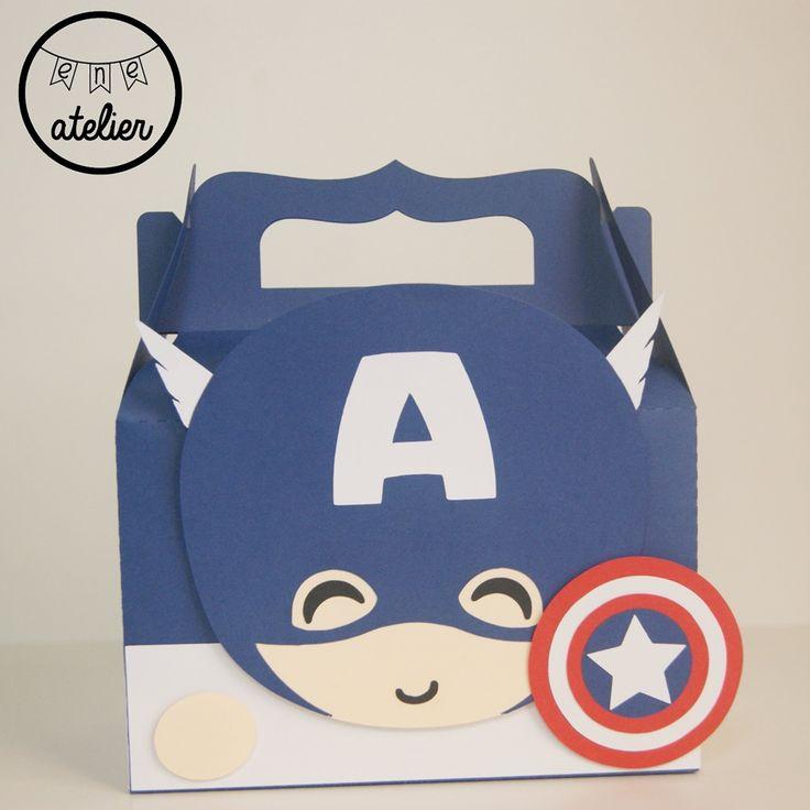 Caja Capitán América