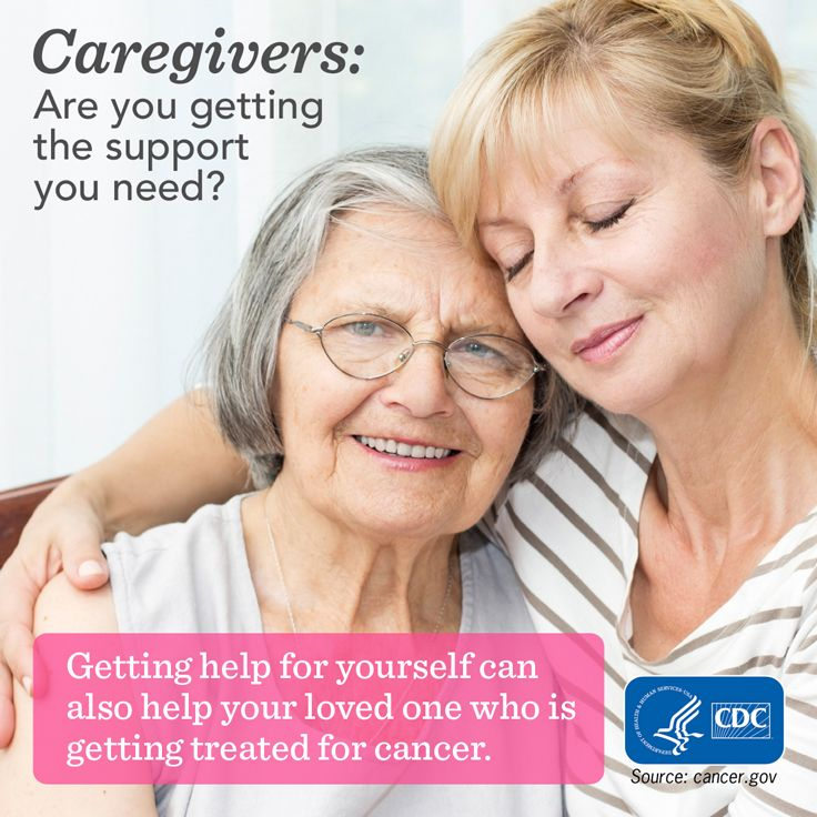 being a caregiver to a cancer The information provided on the cancer knowledge network website is a free public resource and is designed to support, not replace, the relationship that exists between a patient/site visitor and his/her physician.