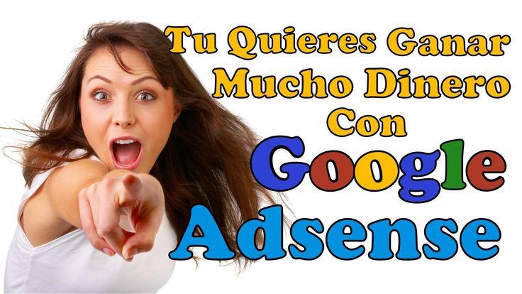 GANAR PLATA ONLINE CON BLOG Y GOOGLE ADSENSE DÓLARES Por Internet Desde ...