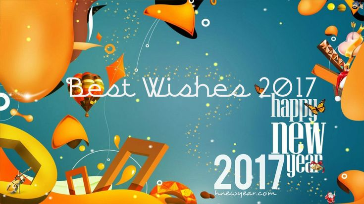 Best Happy New Year Wishes 2017