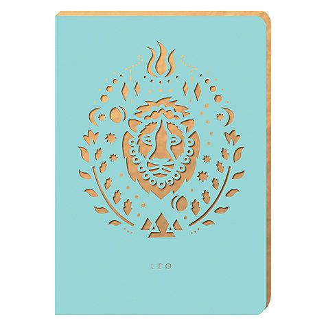 Buy Portico Zodiac Collection A6 Notebook, Leo Online at johnlewis.com