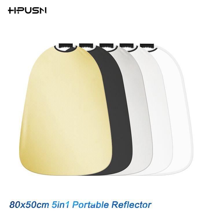 HPUSN 55x80 см 5 в 1 Портативный Складной Свет Фото Рефлектор Диффузор для Студии Мульти Фото Диск купить на AliExpress