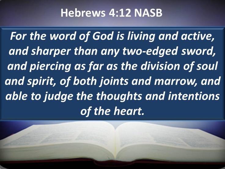Célèbre Les 25 meilleures idées de la catégorie Hebrews 4 12 sur Pinterest  RE93