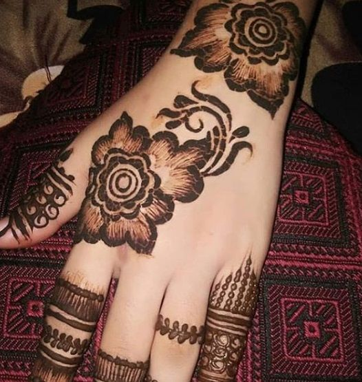 pakistani arabic mehndi design image