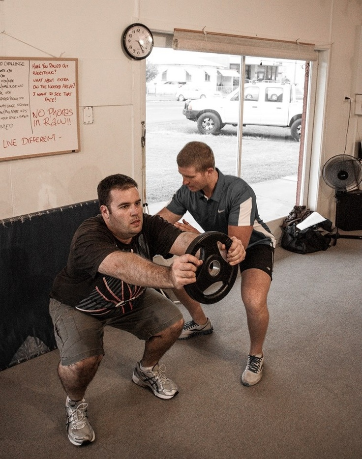 A great exercise to develop the squat pattern. Part of our squat progression series.