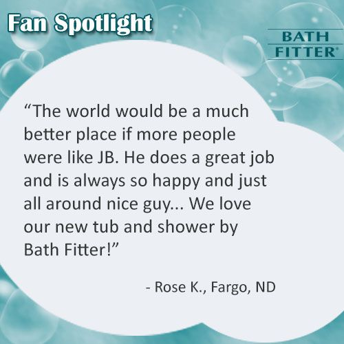 67 best Bath Fitter Customers Review images on Pinterest