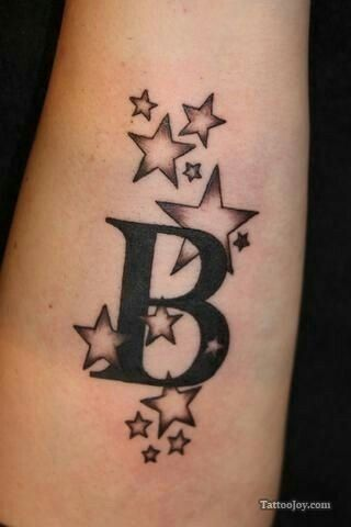 Letter stars