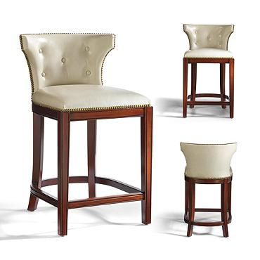 """Marseille Counter Height Bar Stool (25-3/4""""H Seat)"""