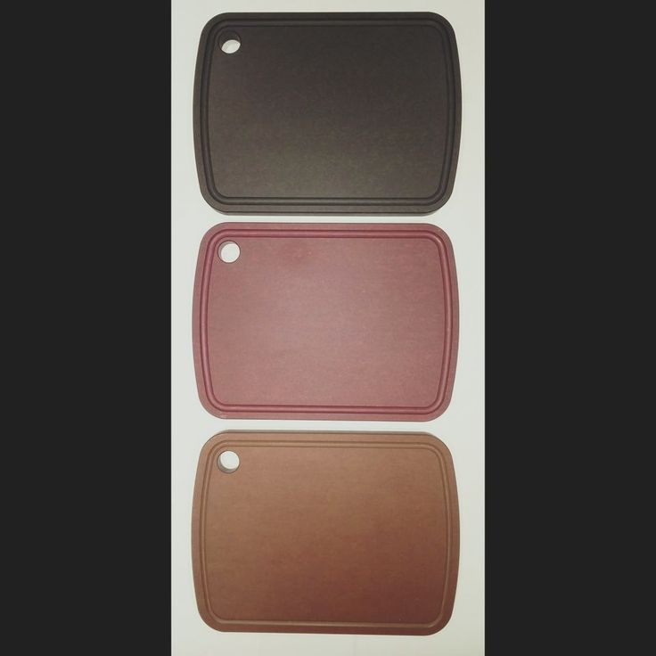 The cutting board with a conscience.  PaperStone® cutting boards are coated with Osmo® Top Oil making them a stain resistant non-porous surface. Made from 100-percent post-consumer recycled paper they are now available in three colours!   For business inquiries visit www.sipeast.ca or contact our office at 416.679.8833