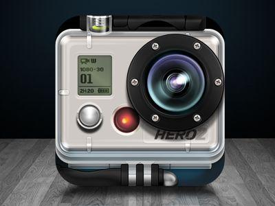 GoPro iOS icon concept | Nice Design | Pinterest | Ios icon, App icon and Icon design