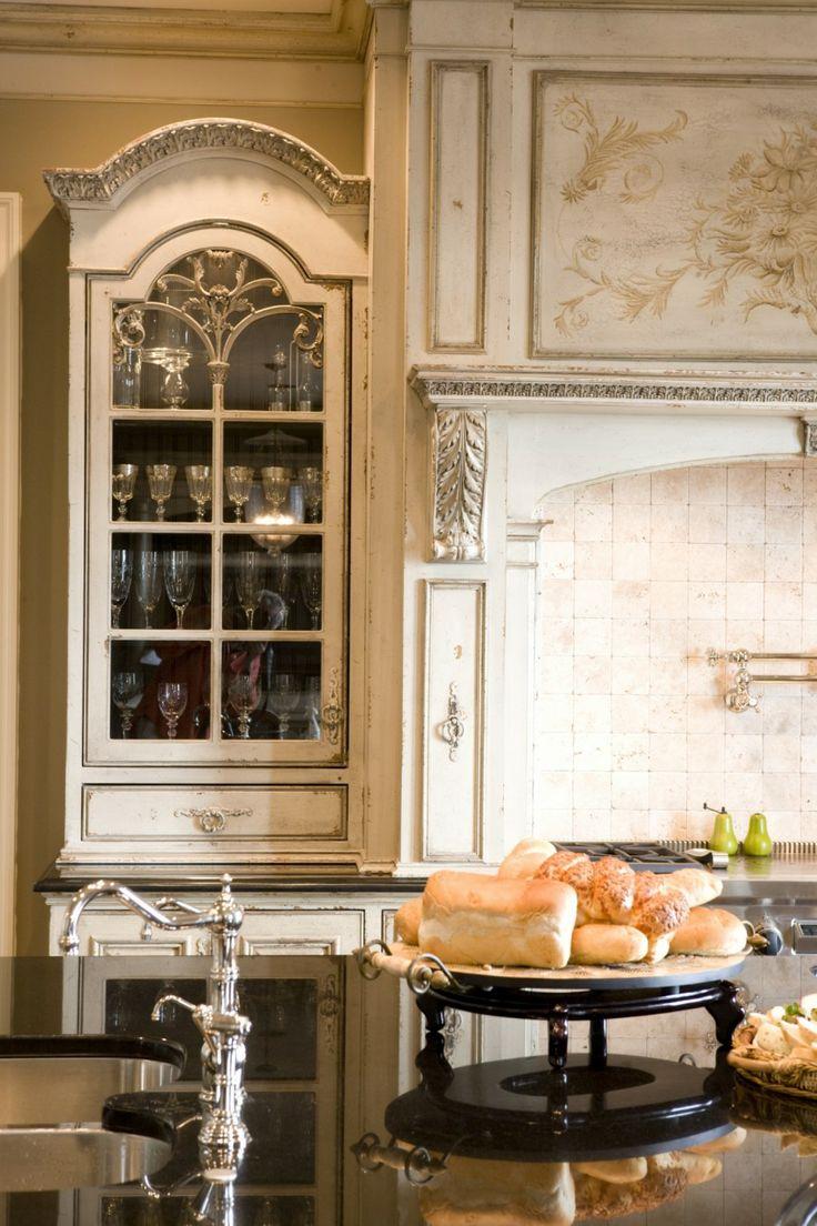 elegant habersham kitchen cabinets with cool rack and glass door also luxury kitchen island. beautiful ideas. Home Design Ideas