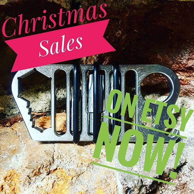 Christmas sales are up on etsy! Save on Wise Guys, Rig Wrenches, and shirts! Will be shipping through the holidays! Have a very merry Christmas!  #christmas #sale #etsy #edc #knuck #tool #beer #edc2016 #everydaycarry #edcgear #owl #jeep #shirt #store #follow #igmilitia #gear #holiday #shopping #gift