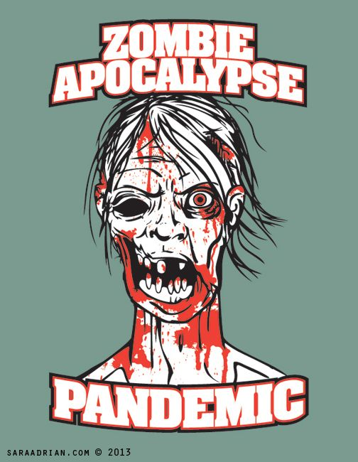 Zombie Apocalypse Pandemic (Z.A.P.)  Logo design for  an interactive live action role playing game where players will utilize REAL skills to play the scenarios presented to them. Located in Oakdale PA.