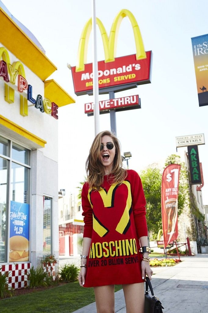 Moschino by Jeremy Scott (IF THIS DID NOT COST ALMOST ONE GRAND IT WOULD BE MINE. In honor of my unhealthy relationship with McDs)
