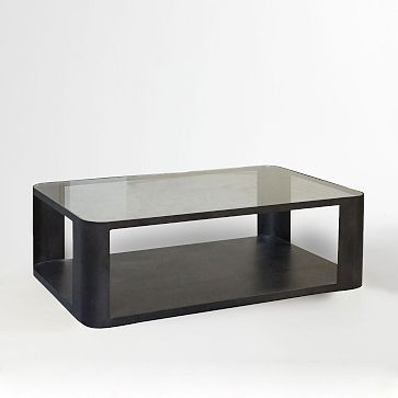 Metal Radius Coffee Table
