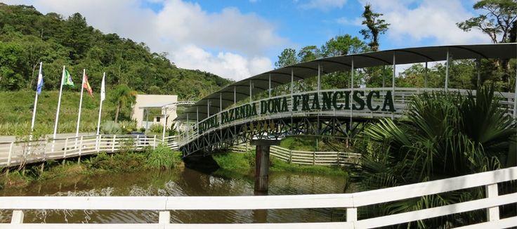 Dona Francisca, um Hotel Fazenda em Santa Catarina! Confira aqui como foi a nossa experiência.
