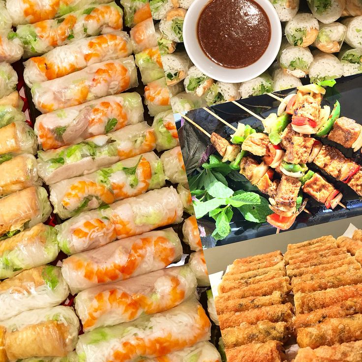 Best glutenfree Vietnamese Fingerfood
