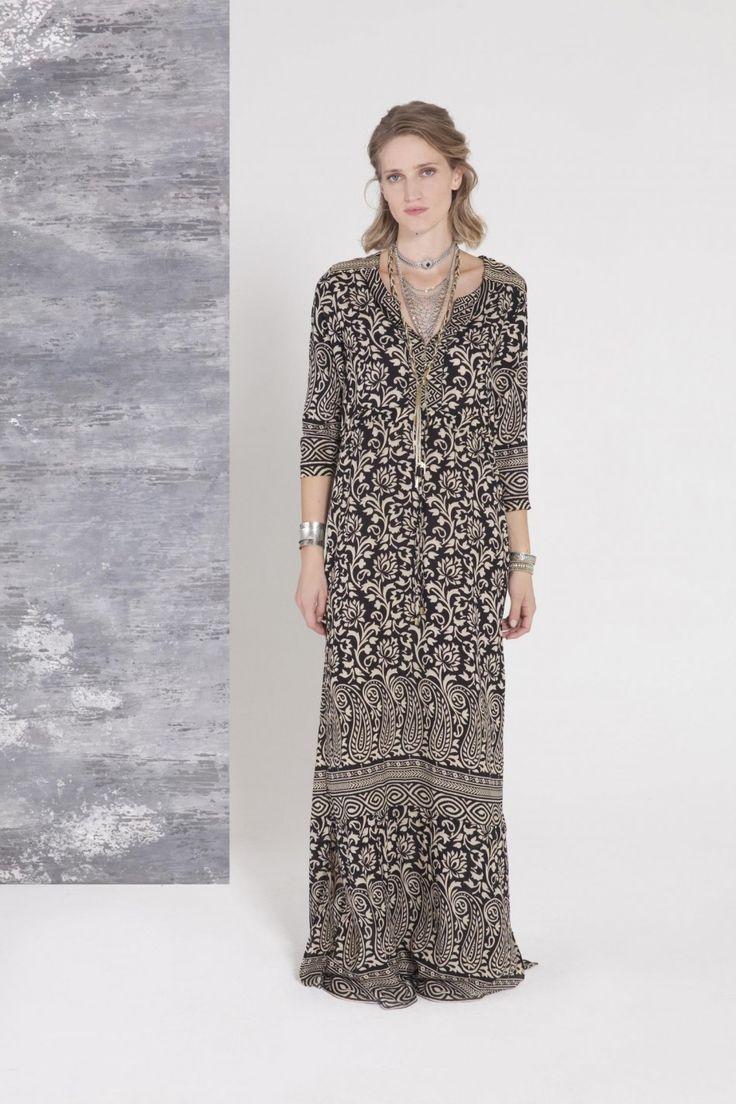 Vestido Troy Long Sari
