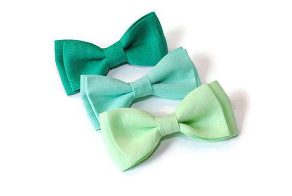 bow ties for men bow tie green wedding mint wedding light