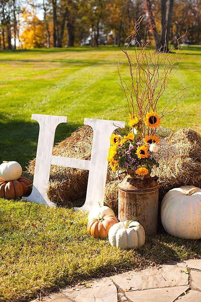 Best 25+ Fall Wedding Decorations Ideas On Pinterest